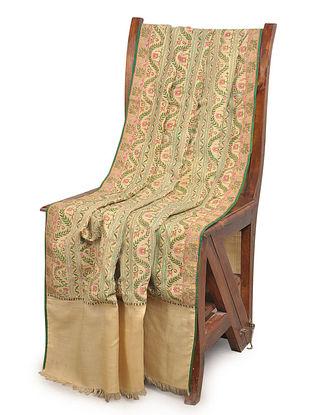 Lucknowkar 1810 Khatrast Jamawar Pashmina Shawl By Aditi Collection