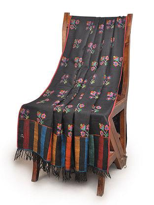 Fine Hand Woven New Dorukha Kani Jamawar Butidar Pashmina Shawl By Aditi Collection