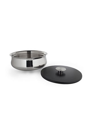Double Walled Stainless Steel Bowl (L:5.5in x W:5.5in x H:3.5in)