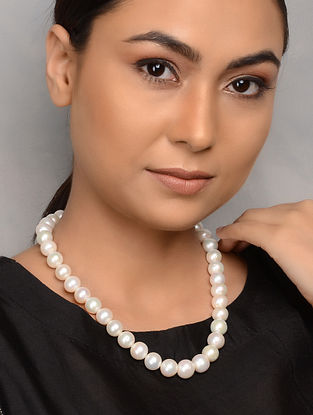 Natural Pearl Beaded Necklace