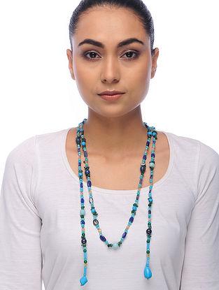 Multicolored Multistone Beaded Necklace