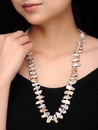 Multicolored Baroque Pearl Beaded Necklace