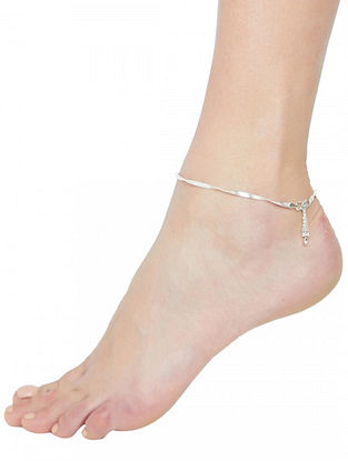 Tribal Sterling Silver Anklet