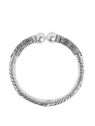 Tribal Sterling Silver Bangle
