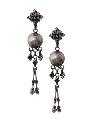 Tribal Silver Earrings