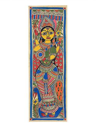 Deity Madhubani Painting - 21.9in x 7.5in