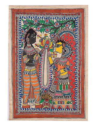 Deity Madhubani Painting - 22in x 15in