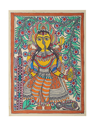 Madhubani Painting - 15.2in x 11in