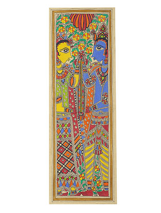 Deity Madhubani Painting - 22.2in x 7.5in