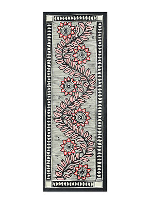 Tree Madhubani Painting (15in x 5.5in)