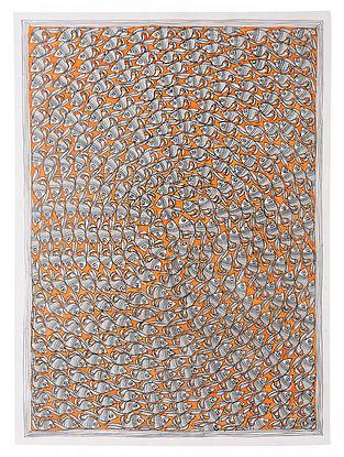 Fish Madhubani Painting (22in x 30in)