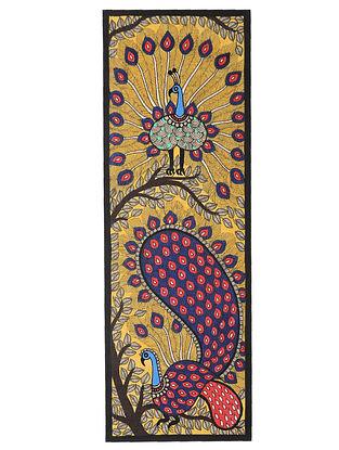 Ganesh Madhubani Painting (30in x 5.5in)