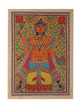 Ganesha Madhubani Painting (28in x 20in)