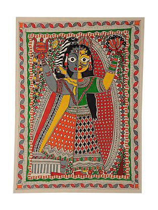 Ardhnareshwar Madhubani Painting (29in x 21in)