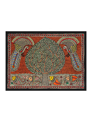 Tree of Life Madhubani Painting (20.5in x 29in)