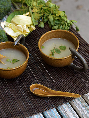 Soup Cup with Spoon-Set of 2
