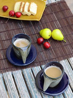 Mug with Saucer-Set of 2
