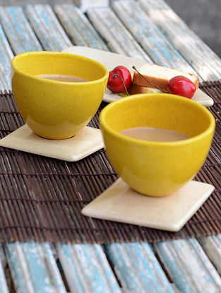 Cup with Saucer-Set of 2