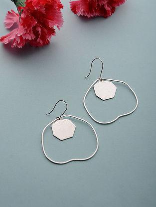 Silver Plated Brass Earrings