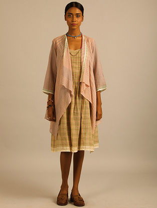 Pink Handwoven Cotton Mul Wrap