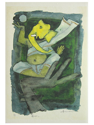 Ganesh Multicolor Offset on Paper (20in x 14in)