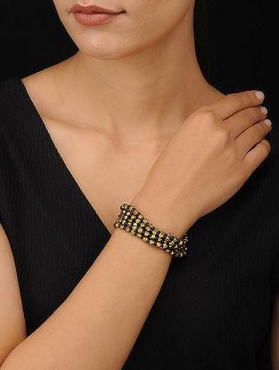 Black Gold Tone Handcrafted Dhokra Bracelet