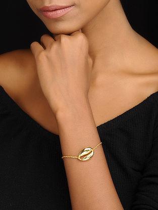 Gold Tone Classic Silver Bracelet