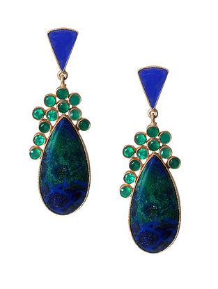 Blue- Green Azurite Mazarine drops