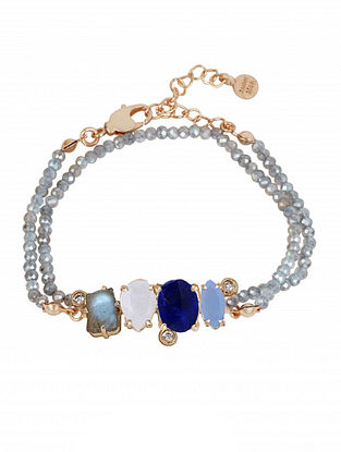 Multicolor Cerulean Multi Gem Bracelet