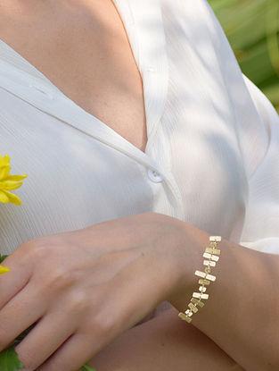 Gold Tone Delicate Link Bracelet
