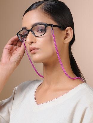 Purple-Blue Handcrafted Beaded Eyewear Chain