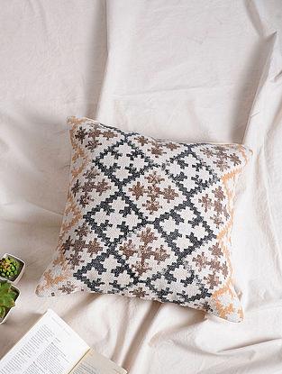 Multicolored Cotton Cushion Cover (17.5in x 17.5in)