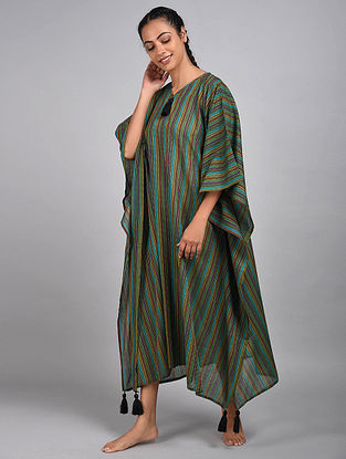 Gypsy Stripes Cotton Kaftan