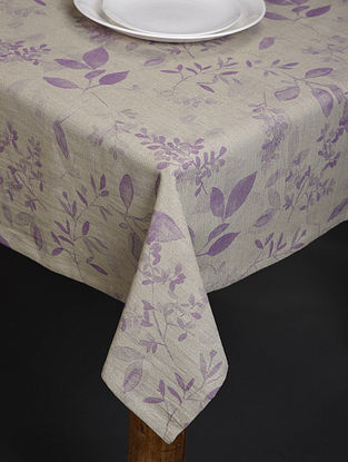 Lavender Meadows Digital Printed Cotton Table Cover