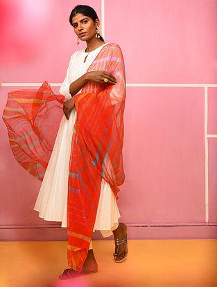 Multicolor Georgette Leheriya Dupatta
