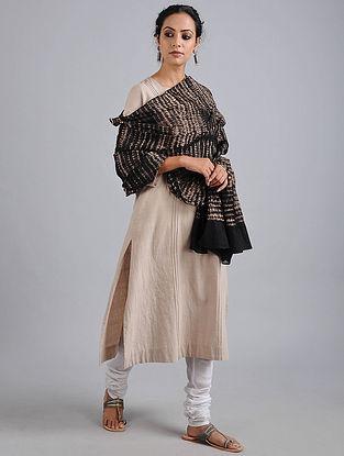 Black Bandhani Cotton Dupatta