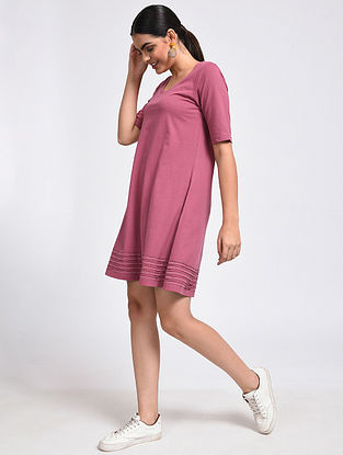 Strawberry Cotton Blend Dress