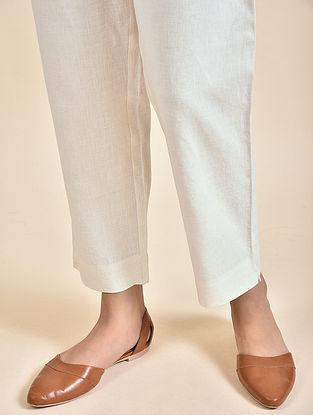 Ivory Linen Pants