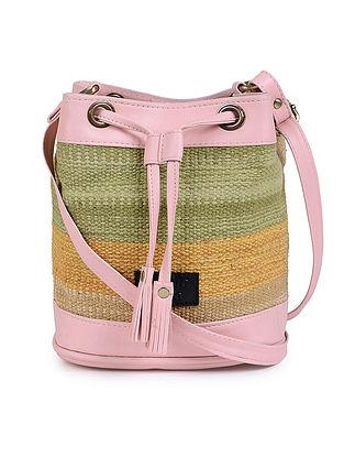 Multicolor Wool Kilim Sling Bag