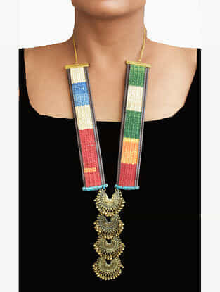 Multicolored Handcrafted Kilim Necklace