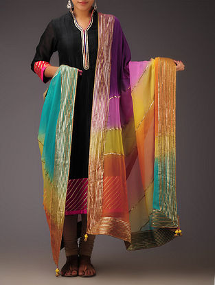Multi-Color Gota Dupatta
