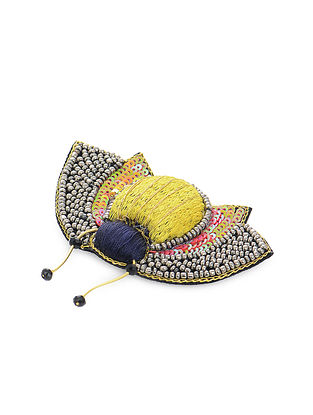 Multicolored Sophie Bug Fabric Brooch
