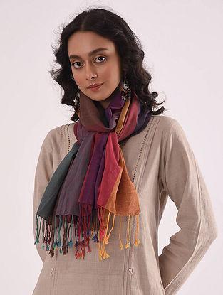 Multicolored Handloom Cotton Stole