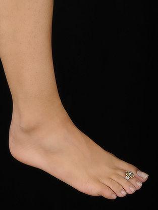 Tribal Silver Toe Ring