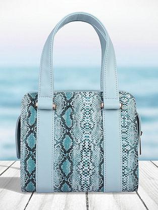 Mint Blue Handcrafted Sling Bag