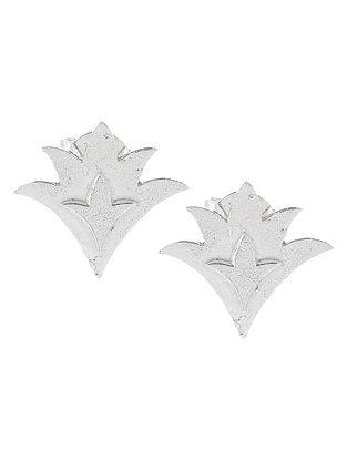 Durba Silver Stud Earrings