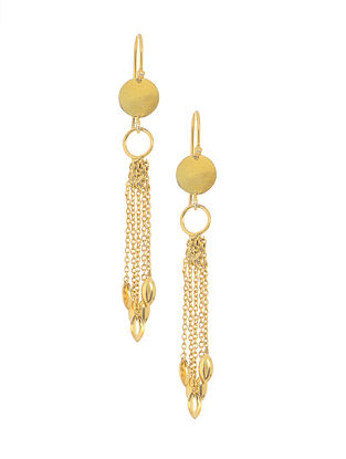 Vintage Gold-plated Silver Earrings