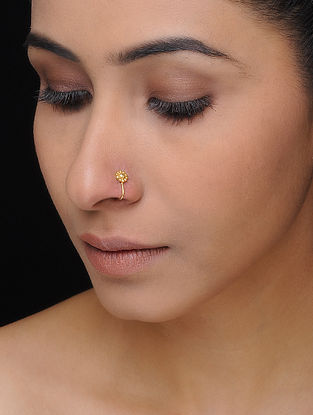 Gold-plated Silver Nose Clip