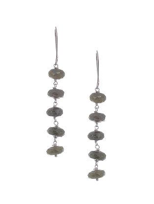 Idocrase Silver Earrings