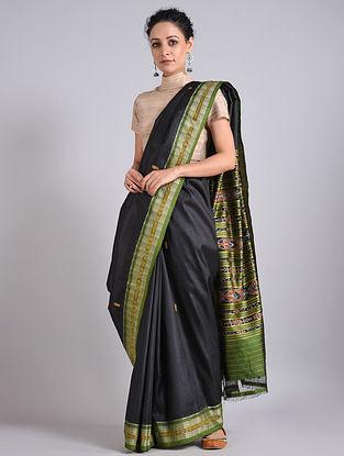 Handwoven Sambalpuri Ikat Silk Saree